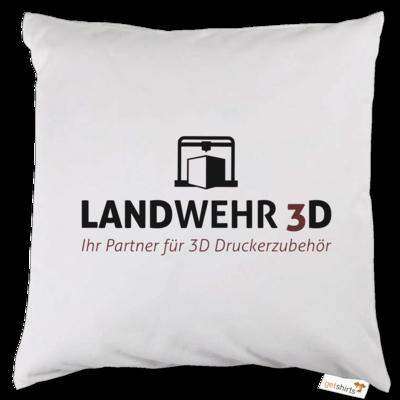 Motiv: Kissen - Logo Landwehr 3D
