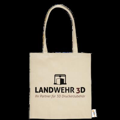 Motiv: Baumwolltasche - Logo Landwehr 3D
