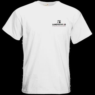 Motiv: T-Shirt Premium FAIR WEAR - Logo Landwehr 3D