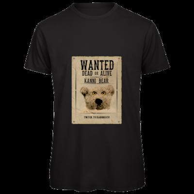 Motiv: Organic T-Shirt - WANTEDBAER