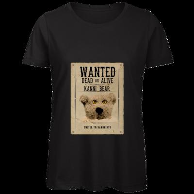 Motiv: Organic Lady T-Shirt - WANTEDBAER