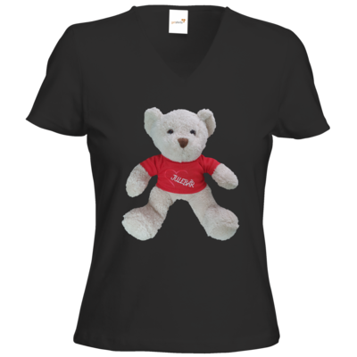Motiv: T-Shirt Damen V-Neck Classic - JULEBÄR