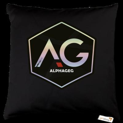 Motiv: Kissen Baumwolle - AG Stream Logo