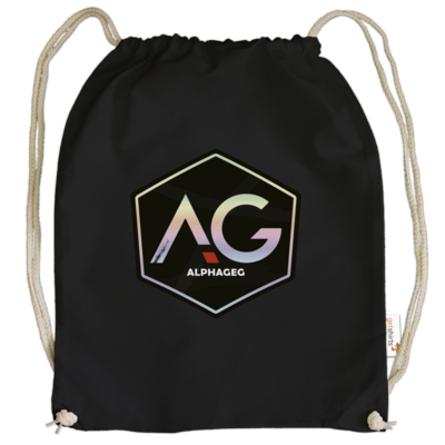 Motiv: Cotton Gymsac - AG Stream Logo