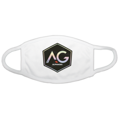 Motiv: Gesichtsmaske - AG Stream Logo