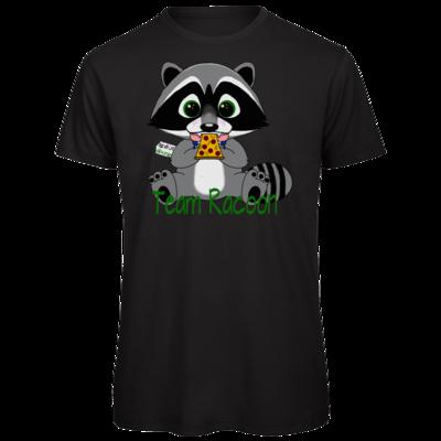 Motiv: Organic T-Shirt - Team Racoon