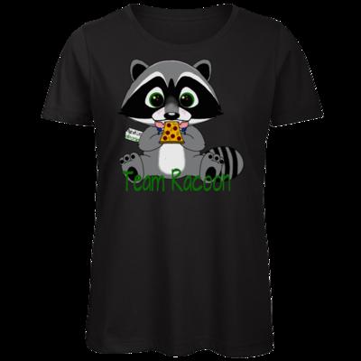 Motiv: Organic Lady T-Shirt - Team Racoon