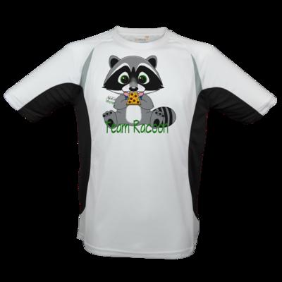Motiv: Laufshirt Running T - Team Racoon