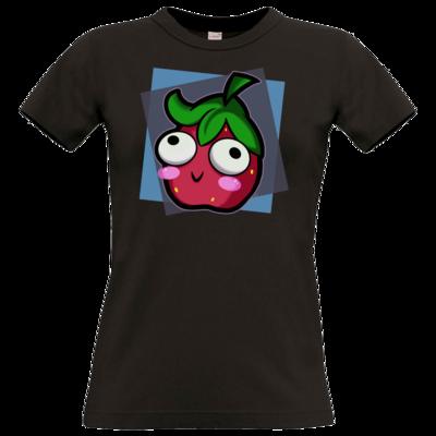 Motiv: T-Shirt Damen Premium FAIR WEAR - Flausche Derp