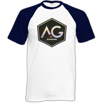 Motiv: Baseball-T FAIR WEAR - AG Stream Logo