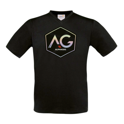 Motiv: T-Shirt V-Neck FAIR WEAR - AG Stream Logo