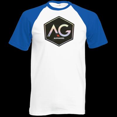 Motiv: TShirt Baseball - AG Stream Logo