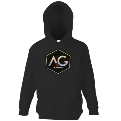 Motiv: Kids Hooded Sweat - AG Stream Logo