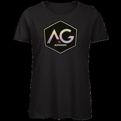 Motiv: Organic Lady T-Shirt - AG Stream Logo