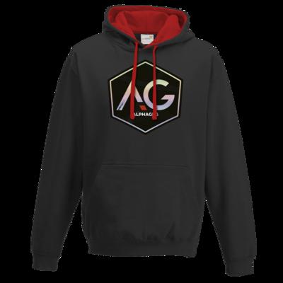 Motiv: Two-Tone Hoodie - AG Stream Logo