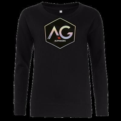 Motiv: Girlie Crew Sweatshirt - AG Stream Logo