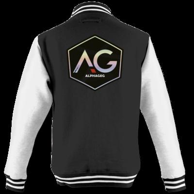 Motiv: College Jacke - AG Stream Logo