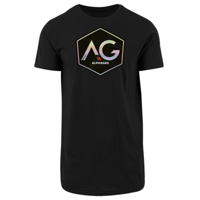 Motiv: Shaped Long Tee - AG Stream Logo