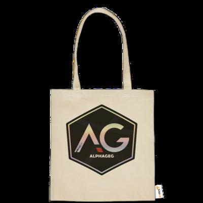 Motiv: Baumwolltasche - AG Stream Logo