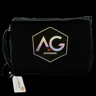 Motiv: Schultertasche - AG Stream Logo