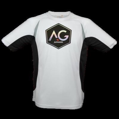 Motiv: Laufshirt Running T - AG Stream Logo