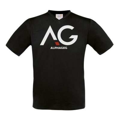 Motiv: T-Shirt V-Neck FAIR WEAR - AG Basic Merch Logo