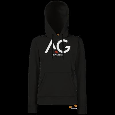 Motiv: Hoodie Damen Classic - AG Basic Merch Logo