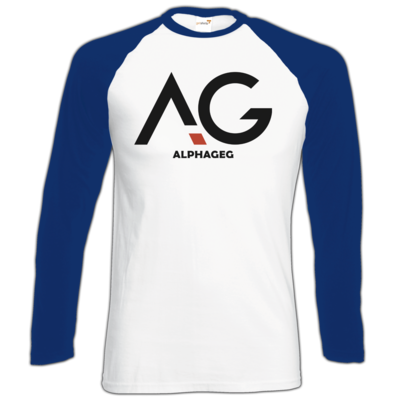 Motiv: Longsleeve Baseball T - AG Basic Merch Logo