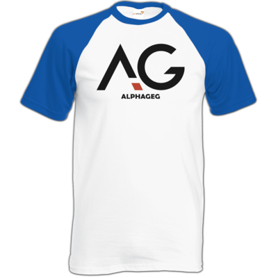 Motiv: TShirt Baseball - AG Basic Merch Logo