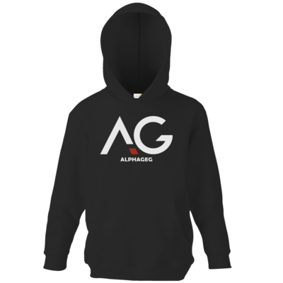 Motiv: Kids Hooded Sweat - AG Basic Merch Logo