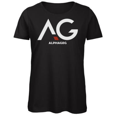 Motiv: Organic Lady T-Shirt - AG Basic Merch Logo