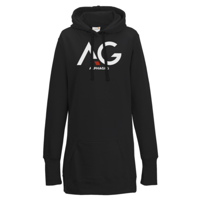 Motiv: Lady Longline Hoodie - AG Basic Merch Logo