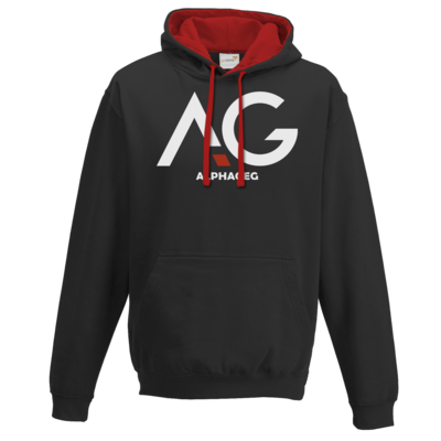 Motiv: Two-Tone Hoodie - AG Basic Merch Logo