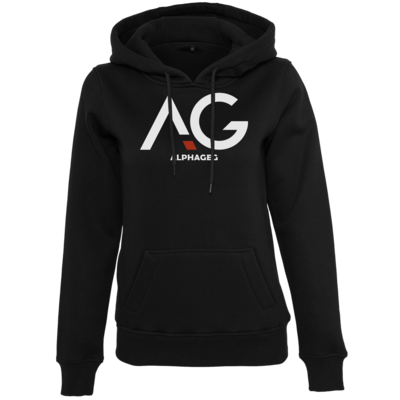 Motiv: Womens Heavy Hoody - AG Basic Merch Logo