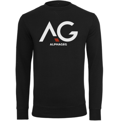 Motiv: Light Crew Sweatshirt - AG Basic Merch Logo
