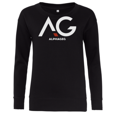 Motiv: Girlie Crew Sweatshirt - AG Basic Merch Logo