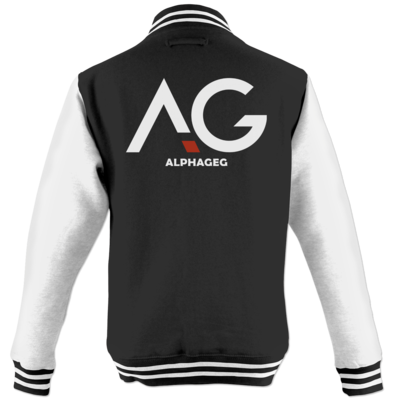 Motiv: College Jacke - AG Basic Merch Logo