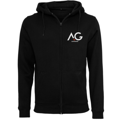 Motiv: Heavy Zip-Hoodie - AG Basic Merch Logo