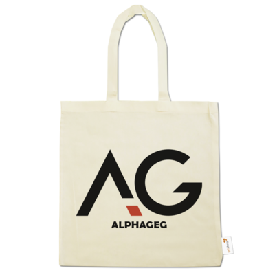 Motiv: Baumwolltasche - AG Basic Merch Logo