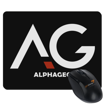 Motiv: Mousepad Textil - AG Basic Merch Logo