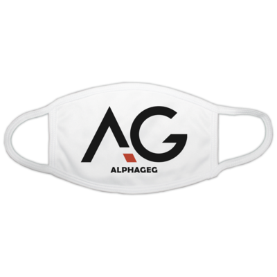 Motiv: Gesichtsmaske - AG Basic Merch Logo