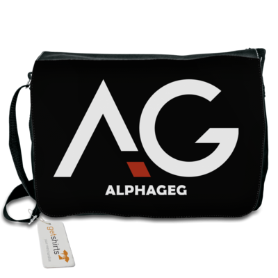 Motiv: Schultertasche - AG Basic Merch Logo