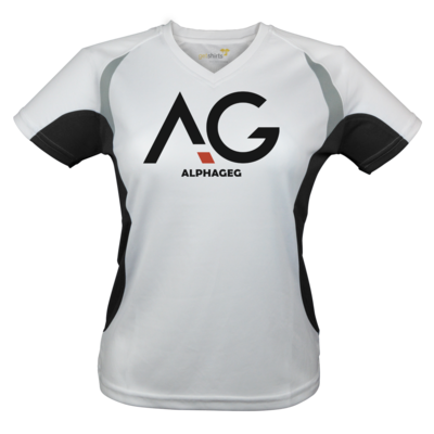 Motiv: Laufshirt Lady Running T - AG Basic Merch Logo