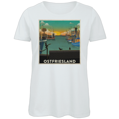 Motiv: Organic Lady T-Shirt - Heimathafen