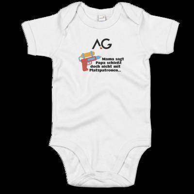 Motiv: Baby Body Organic - Strampler Logo