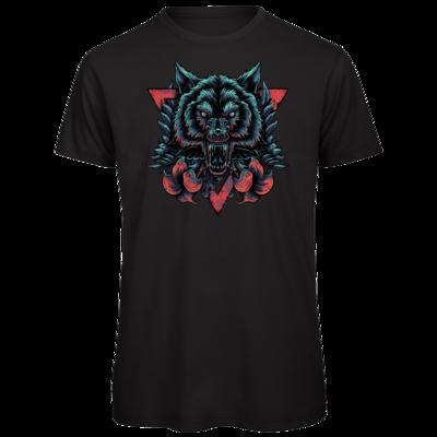 Motiv: Organic T-Shirt - Lone Wolf