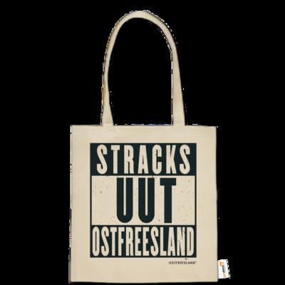 Motiv: Baumwolltasche - Stracks uut Ostfreesland