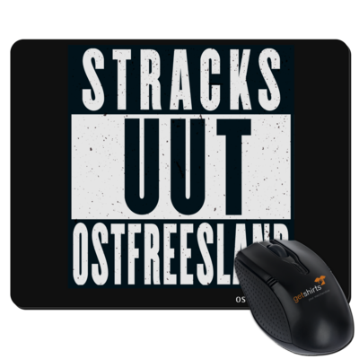 Motiv: Mousepad Textil - Stracks uut Ostfreesland