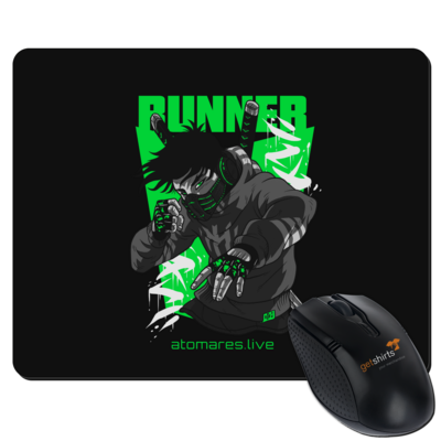 Motiv: Mousepad Textil - BunkterTeam - Runner