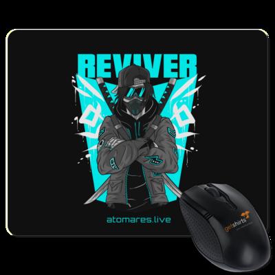 Motiv: Mousepad Textil - BunkterTeam - Reviver